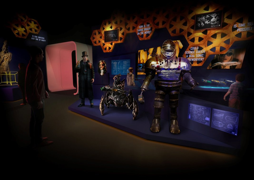 An artist's impression of Doctor Who: Worlds of Wonder (c) BBC Studios
