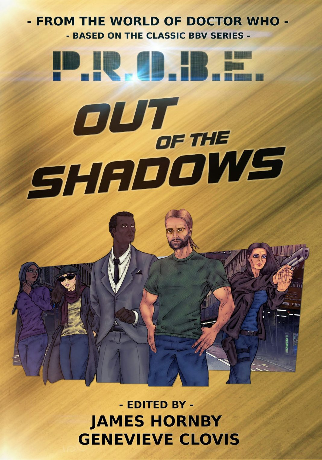 PROBE: Out of the Shadows. (c) Arcbeatle Press Doctor Who