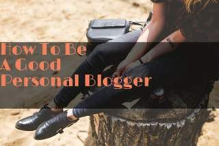 personal blogger