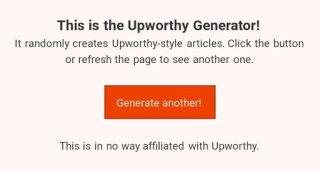 unworthy generator