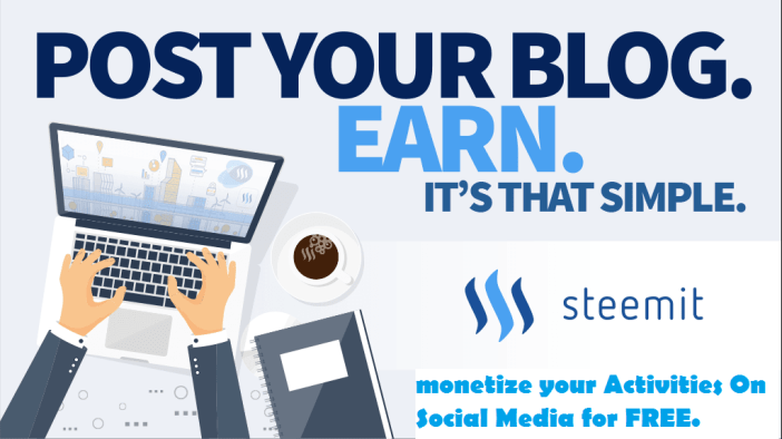 get paid for social media posts; Make Money On Steemit