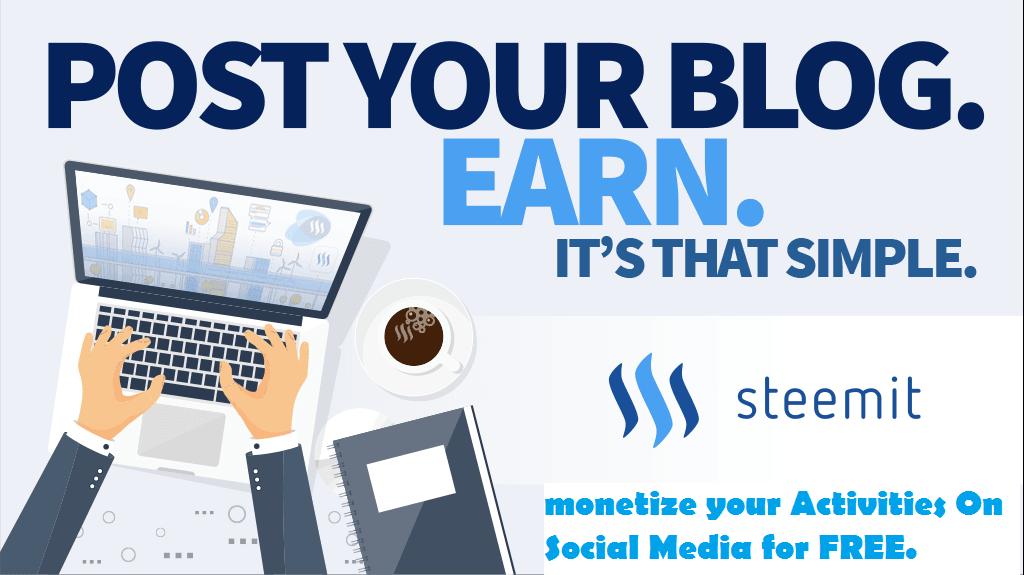 Make money on steemit