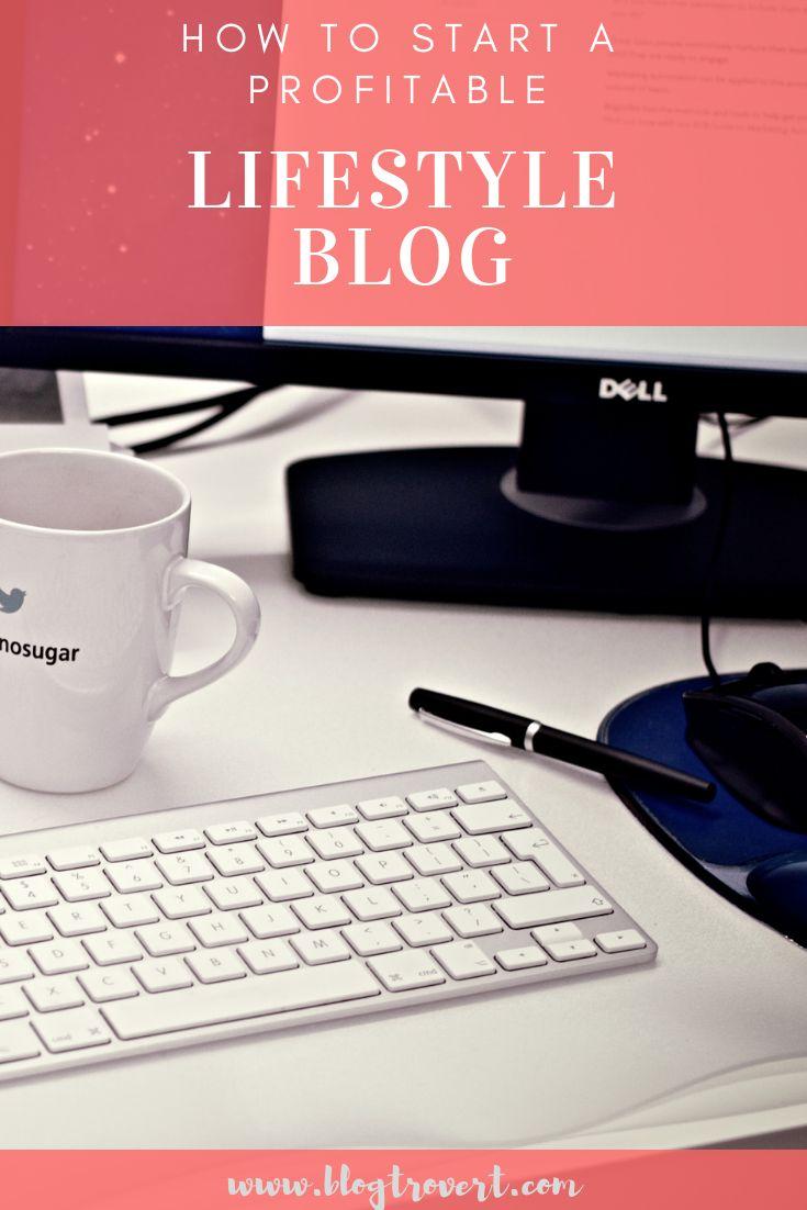 start a profitable lifestyle blog