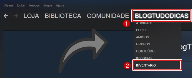 Como Encontrar sua Trade URL da Steam