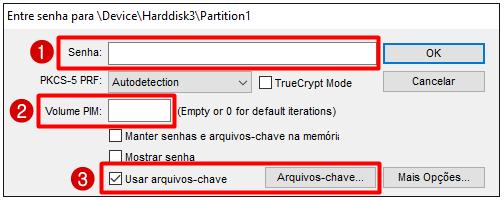 VeraCrypt pendrive