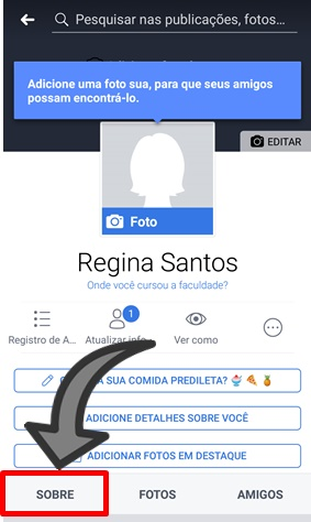 como por meu instagram no face