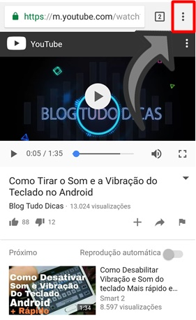 Como repetir videos do YouTube no celular e PC