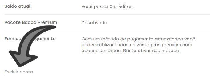 Como excluir uma conta do Badoo 2018