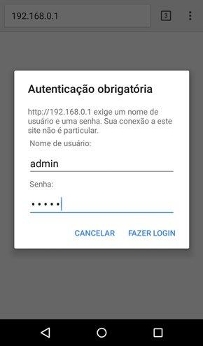 Ver senha de WiFi conectado qualquer roteador