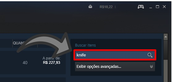 comprar facar CS GO mercado Steam 2018