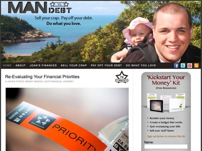 man vs debt