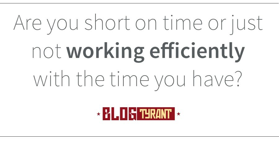 working_efficiently