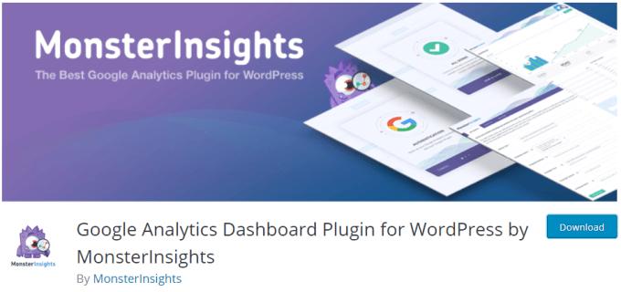 MonsterInsights - Plugin WordPress