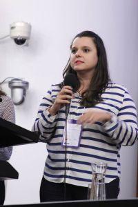 Ana Beatriz Magalhães, repórter do Blog da Saúde. Departamento de Comunicação Social do Ministério da Saúde. Foto Alex Nunes
