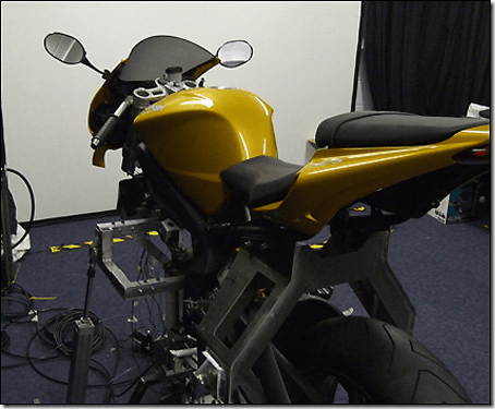 Triumph Daytona Simulateur