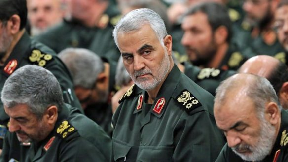 Lt Gen Qasem Soleimani of Iran QUDS force