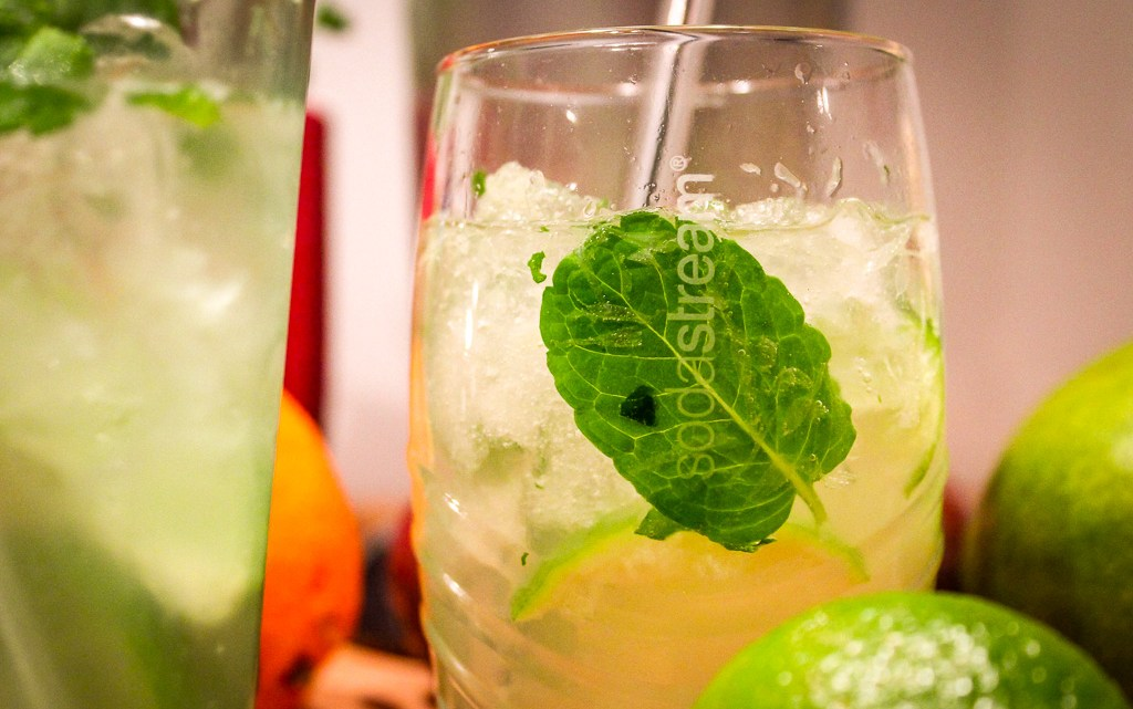 Mocktails met Sodastream