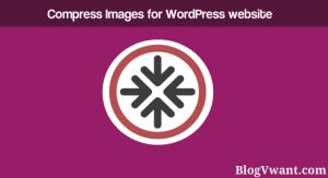 compress images for wordpress website