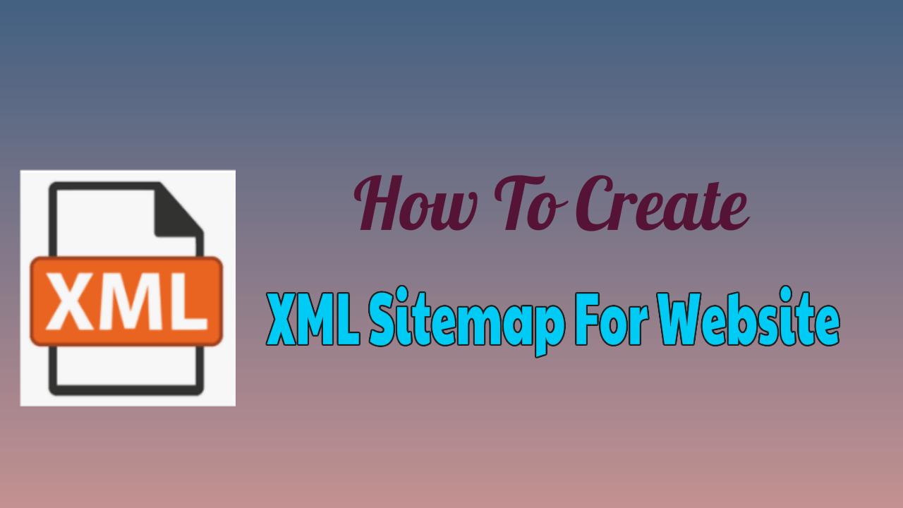 XML Sitemap For Website
