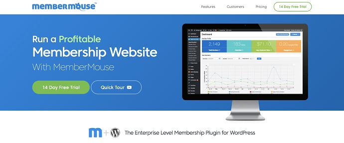 MemberMouse (MemberPress alternative)