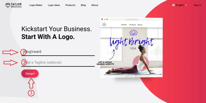 Enter Logo deatils