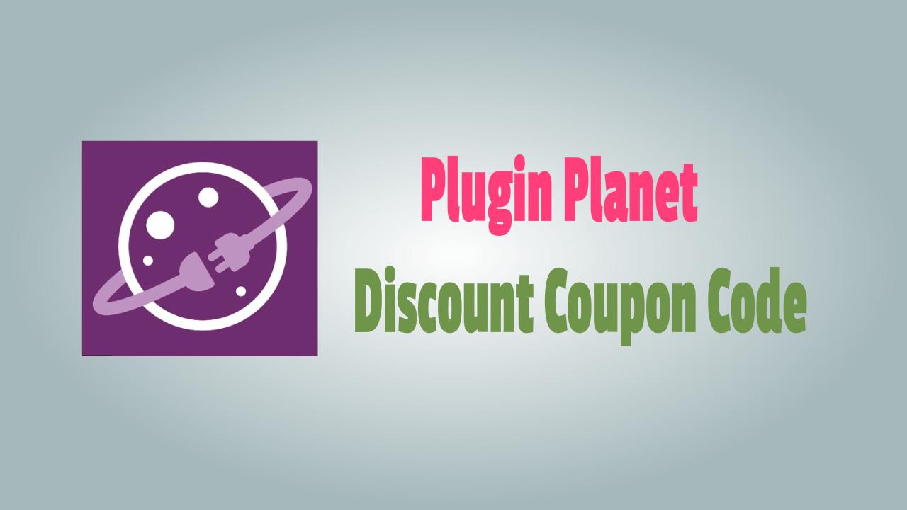 Plugin Planet Discount Coupon