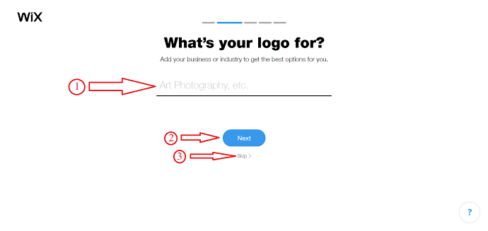 How to create a logo in Wix