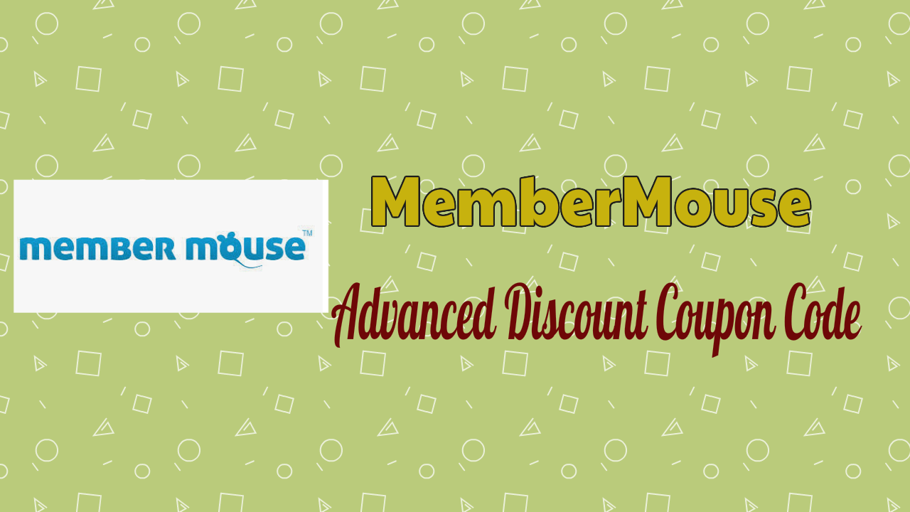 MemberMouse Advanced Discount Coupon Code