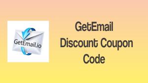 GetEmail Discount Coupon