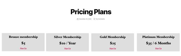 Step 8 Publish and Preview the Pricing Page
