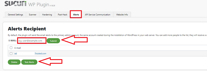 Step 3 Enable Security Alerts