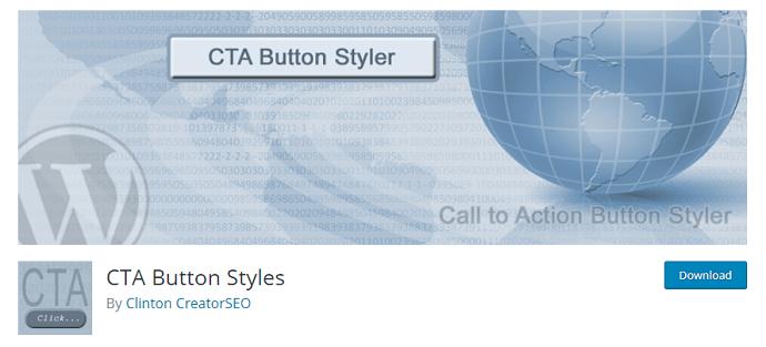 CTA Button Styles - WordPress Plugin to add button to WordPress Menu