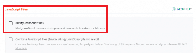 minify the Javascript with WP-Rocket plugin to increase the LCP score