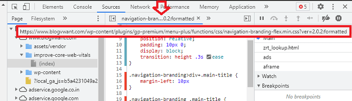 Step 2 Paste the New CSS (Used) code