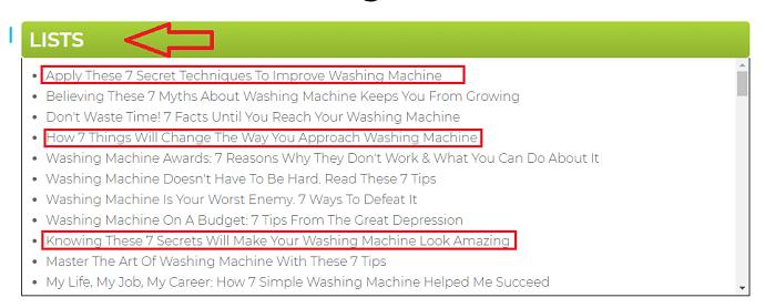 tweak your biz title generator - list based headlines