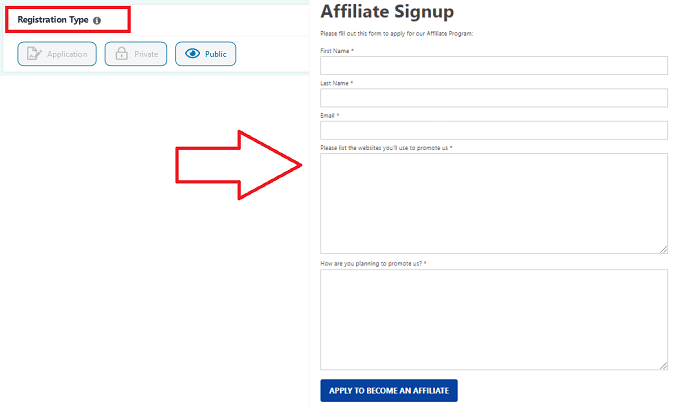 EasyAffiliate Feature - The Multiple Ways for Joining the Affiliate Program