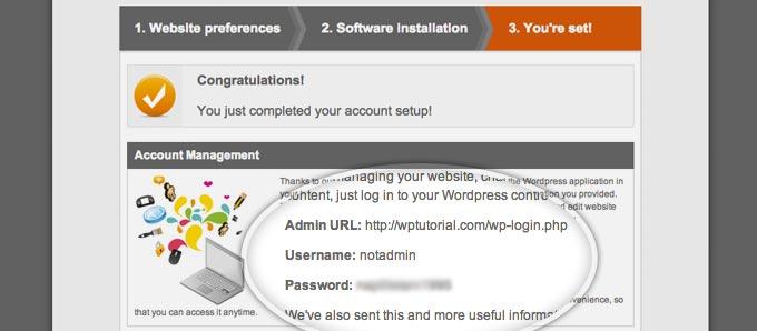 install wordpress siteground