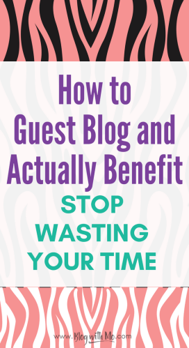 How to find guest blogging opportunities and guest blogging tips that will save you from wasting your time. Learn how to grow your blog traffic with guest blog SEO