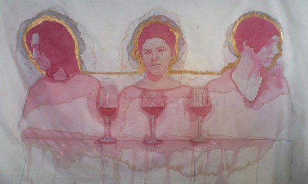 Painting-with-Wine An Interview-with Wine-Stain-Artist Amelia-Harnas. (10)