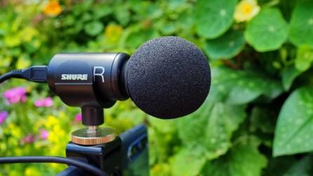 Detailansicht Mikrofon