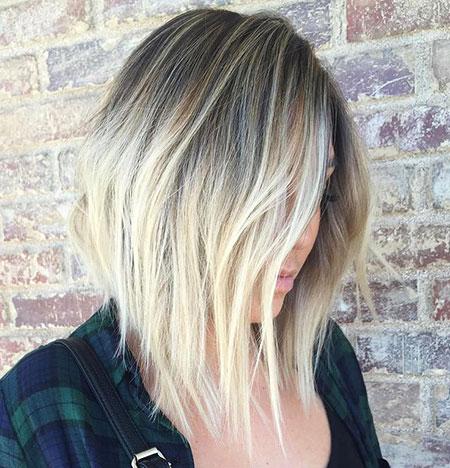 Blonde Lob Haircut Blonde Hairstyles 2017