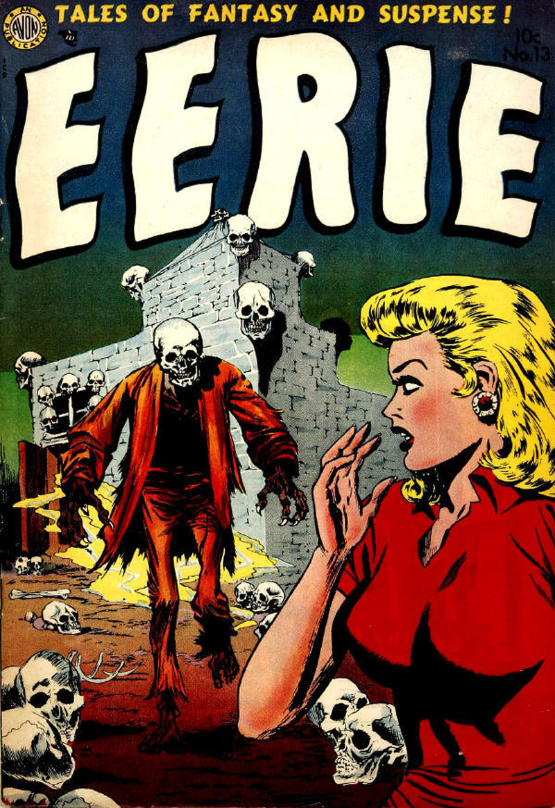 Image result for avon erie comics