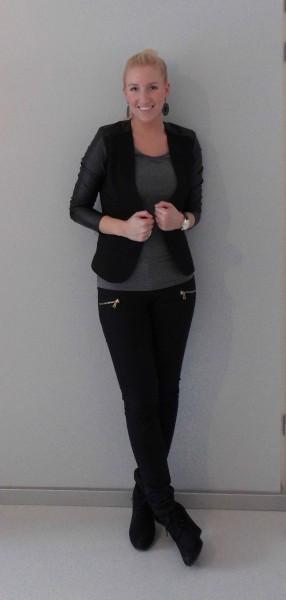OOTD-Zwart-jasje-leren-mouw-H&M-black-leather-1