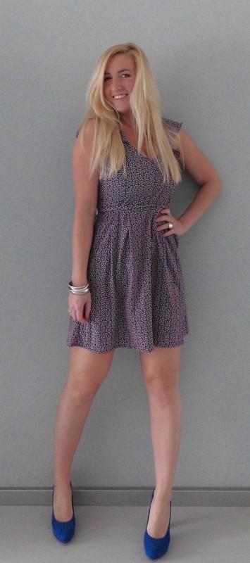 OOTD-outfit-floral-bloemen-dress-jurk-cobalt-blauwe-pumps-summer-3