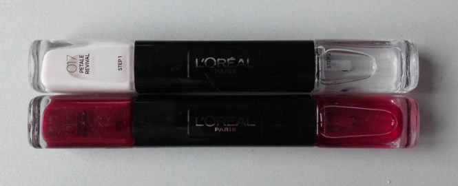 L'Oréal-Infallible-Nail-017-petale-revival-en-016-Forever-Burgundy