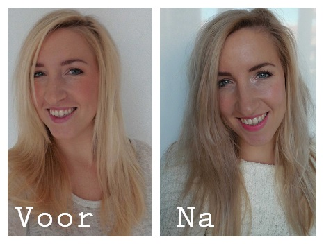 Koele-spoeling-blond-haar-warm-geel-grijs-hair-soft-purple-shampoo-paars-4