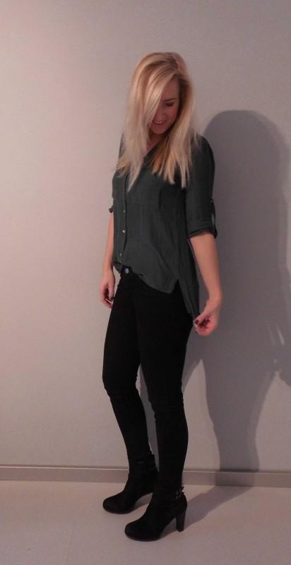 ootd-outfit-work-blouse-bloesje-mosgroen-black-zwarte-jeans-broek-casual-chic-blondie-beauty-fashion-4