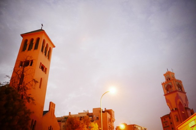 church, marrakech, morocco, religion, mosque