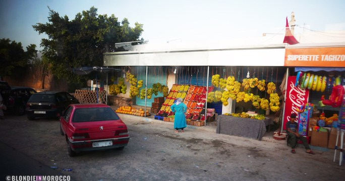 village, banana, fruits, street shop