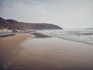 legzira beach arch sand